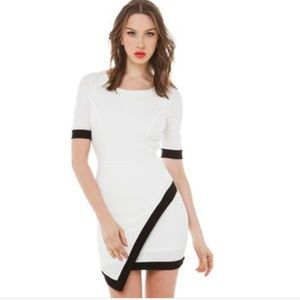 Akira Chicago Red label asymmetrical Dress